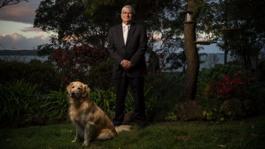 True to the cause: Brian Burston, One Nation NSW senator at his home in Coal Point near Newcastle.