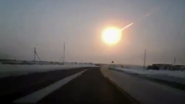 The Chelyabinsk meteor in 2013 was brighter than the sun.