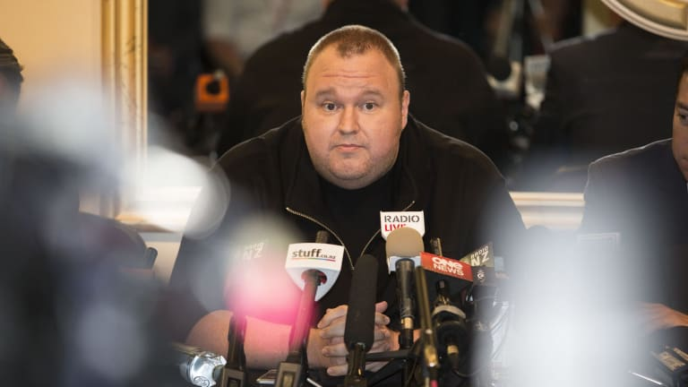 Members of the security community have not been as positive about Kim Dotcom's plans as he'd hoped.
