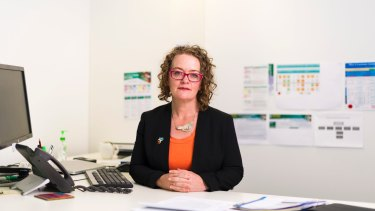 ACT co-ordinator general for family safety Jo Wood .