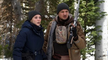 Elizabeth Olsen and Jeremy Renner are the latest iteration of the mismatched partners archetype in 'Wind River'.