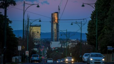 By 2020, Box Hill will have more skyscrapers than Canberra.