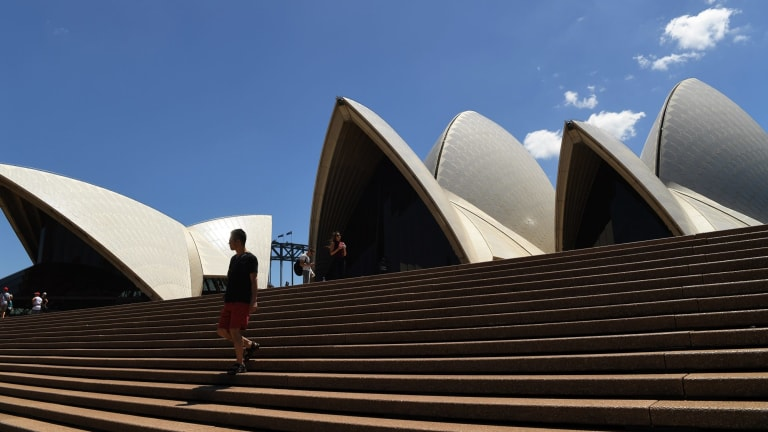A $200 million renovation is under way at the Sydney Opera House.
