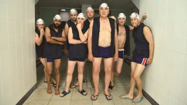 Swimming with Men has Rob Brydon, Jim Carter and Rupert Graves among its stars.