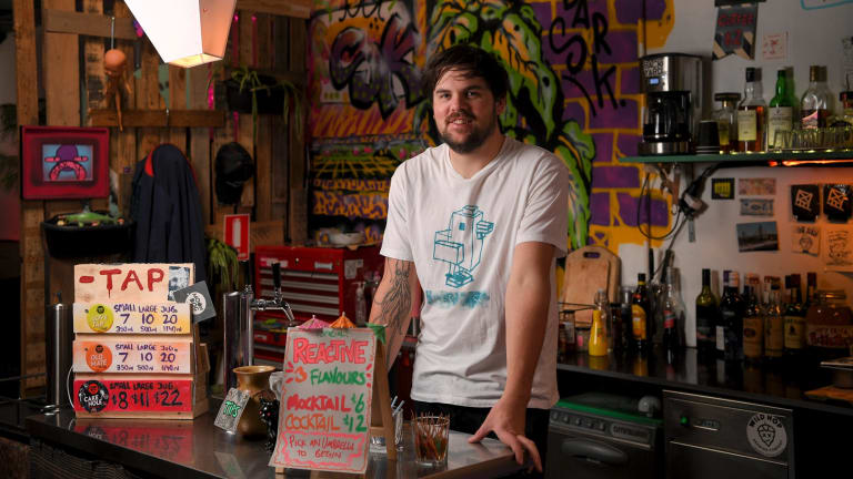 Louie Roots, owner of Bar SK.