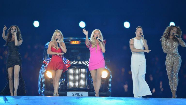Spice Girls reunited briefly in 2012.