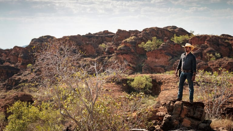 The landscape is a major character in <i>Mystery Road</i>.