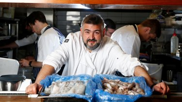 Label My Fish: Frank Camorra, executive chef of the hatted MoVida restaurants, is calling for better labelling on seafood products.