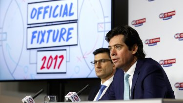 AFL boss Gillon McLachlan and his team may have averted this problem, if they had made decisions earlier on the AFLW fixture.