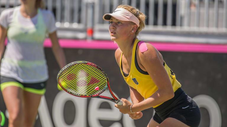 Australia are wary of Ukraine teenage sensation Marta Kostyuk who leads the singles attack at just 15 years old.