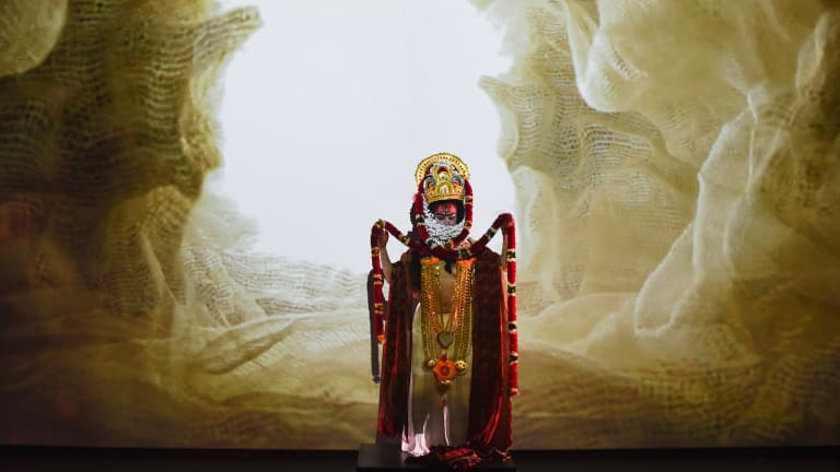 Rakini Devi's loving attention to costume detail, plus the elegantly spare staging, is an illustration in itself of authenticity adapted to the present and personal.