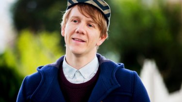Josh Thomas epitomises awks-chic in Please Like Me.