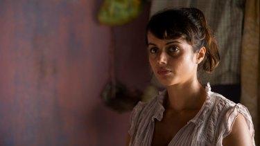 Amrita Acharia as Dr Ruby Walker in The Good Karma Hospital.