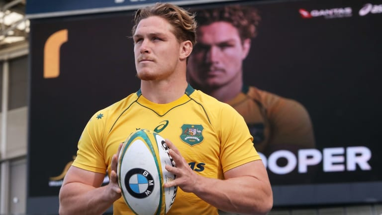 His own man: Michael Hooper.