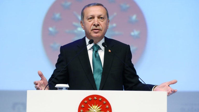 A busy week in diplomacy for Turkish President Recep Tayyip Erdogan.