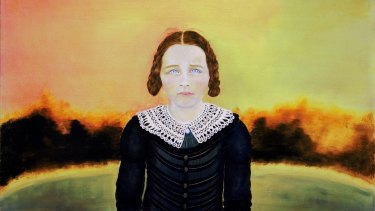 Megan Seres was awarded the $150,000 Doug Moran National Portrait Prize for her painting <i>Scarlett as Colonial Girl</I>.