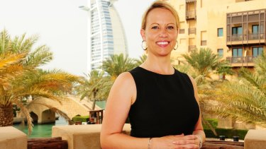 Louise Adams is back in Australia after spending seven years working in the United Arab Emirates.