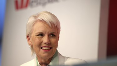 Parting gift from departing chief Gail Kelly: Westpac has beaten Commonwealth Bank to lead customer satisfaction ratings for the first time in a decade. The ratings are tied to senior executive bonuses.