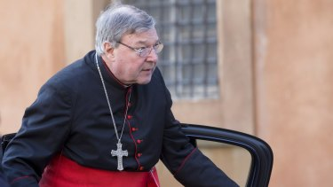 Cardinal Pell at the Vatican.