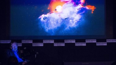 Stephen Hawking outlines the Breakthrough Listen project, which will search for signs of alien life beyond our galaxy.