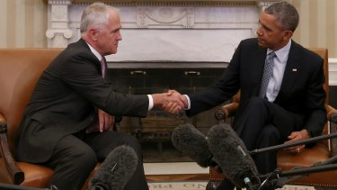 When Malcolm Turnbull and Barack Obama met, it was passed off mainly as a pro-forma meet-and-greet for the new Australian leader.