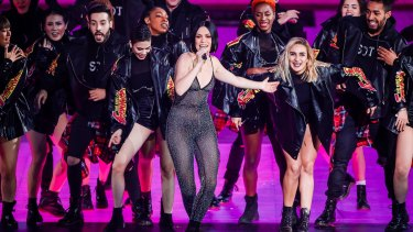 Jessie J performs at Double Eleven concert in Shanghai