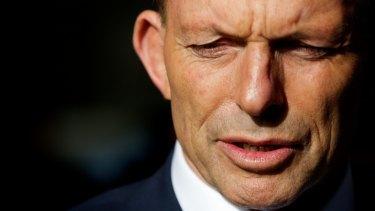 Prime Minister Tony Abbott in Perth.