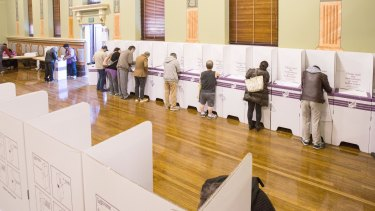 Australia has voted but the result is not clear.