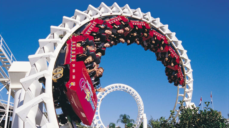 Ride the market rollercoaster until the last moment, Marcus Padley advises.