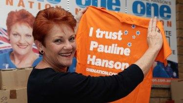 The author condemns Ms Hanson's inflammatory slogans against fellow Australians.
