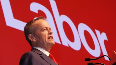 Opposition Leader Bill Shorten says tackling inequality will be Labor's defining mission.