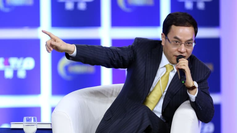 Hanergy chairman Li Hejun has been outspoken in defending the company.