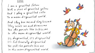 Freedom of expression is not absolute anywhere in the world, even where the right is granted to citizens. Illustration: Michael Leunig