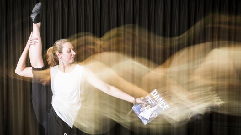 Calwell High School dance teacher Kym Degenhart kick starts her teaching year with the Ausdance ACT'™s Move Up workshop.