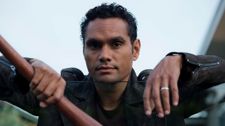 Waaru (Rob Collins), the Uncle Tom of Cleverman.