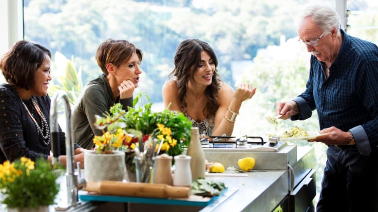 Criticised by Helen Razer: <i>Silvia's Italian Kitchen</i>.