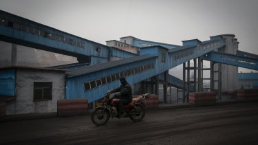 The Xinwu Coal Mine in Shanxi Province, China.