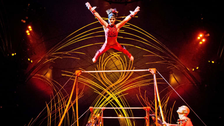 Cirque du Soleil, which started with a small group of street performers in a town near Québec, Canada, 33 years ago, has since entertained more than 180 million spectators in 450 cities around the world.