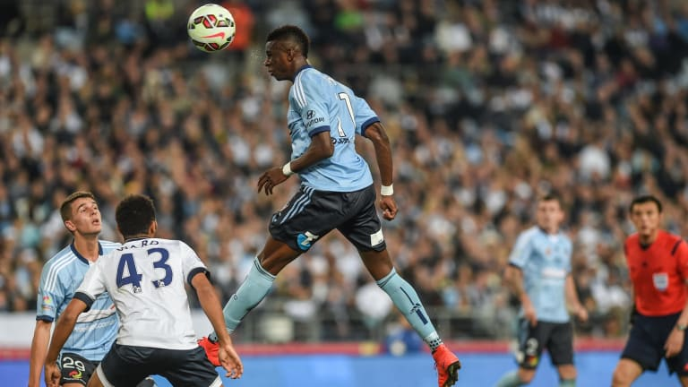 Heading out: Bernie Ibini will not be with Sydney FC next season.