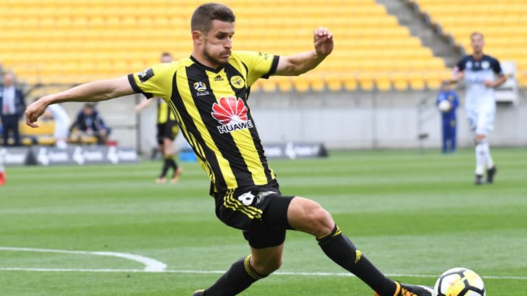 Knows how to find the net: New Melbourne City signing Dario Vidosic.