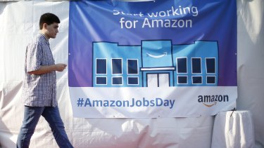 If Amazon does hire 50,000 people in the US this month, economists say that could be enough to make a meaningful impact on the country's August employment numbers.