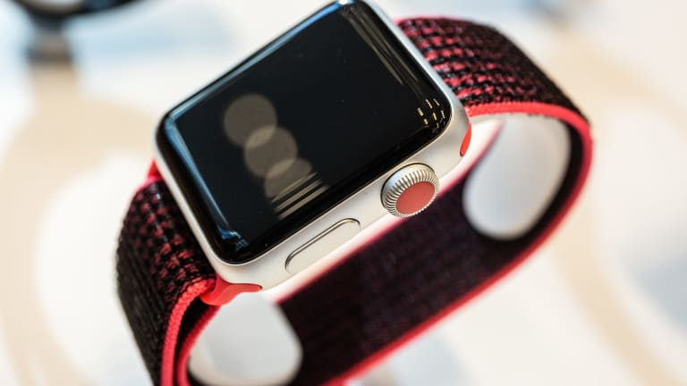 Consumer electronics such as Apple watches are popular targets for theft.