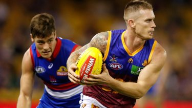 Standout: Lions captain Dayne Beams has lifted in a new leadership role.