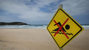 Surf Life Saving NSW are urging people to take extra care in the water and only swim in patrolled areas, as a weekend heatwave drives people to beaches.