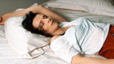 Juliette Binoche as Isabelle in Let the Sunshine In.