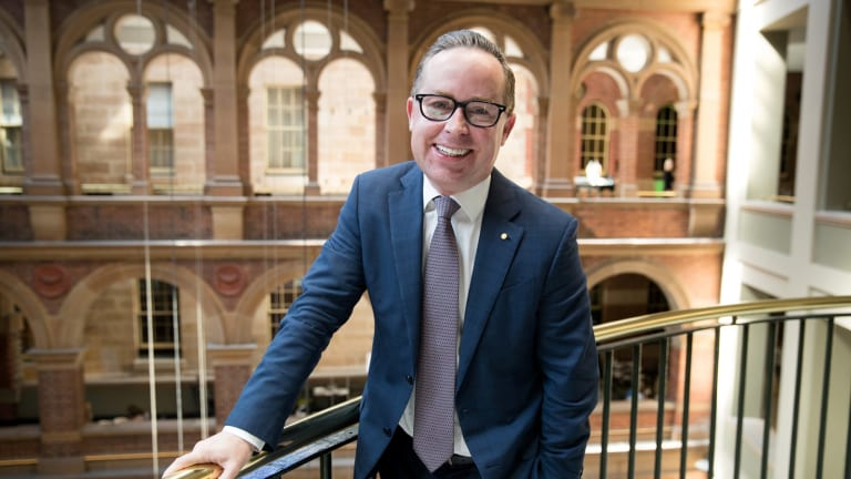 Qantas CEO Alan Joyce wants the number of female pilots to grow.