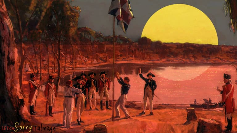 The date of Australia Day is under debate. Illustration: Simon Letch