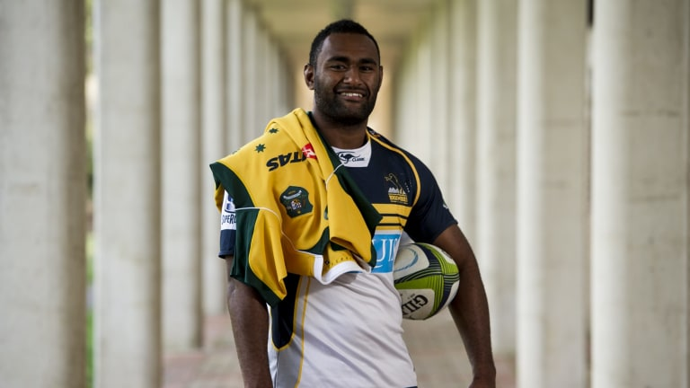 Brumbies centreTevita Kuridrani re-signed with the Brumbies for another two years.