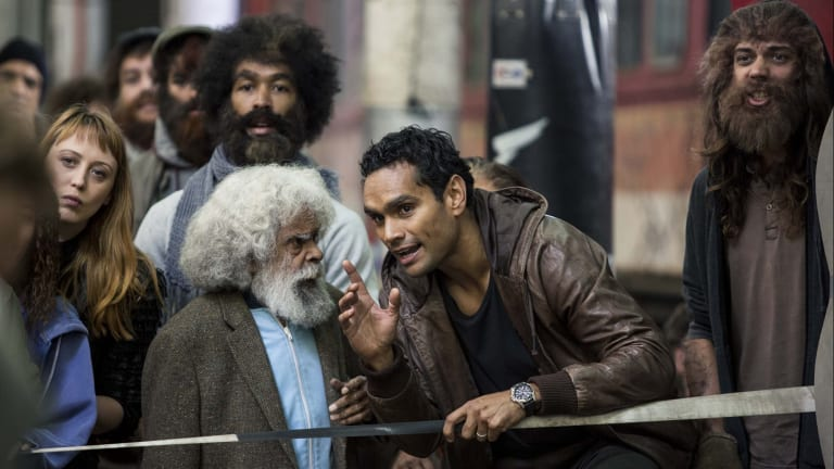 Cleverman: An impressive array of Indigenous talent, on screen and behind the scenes.