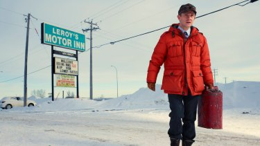 As Lester Nygard in the TV adaptation of <i>Fargo</I>.